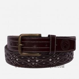 Cinturón rociero piel de Ubrique barato