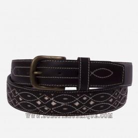 Cinturon rociero piel ancho