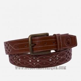 Cinturón rociero piel ancho