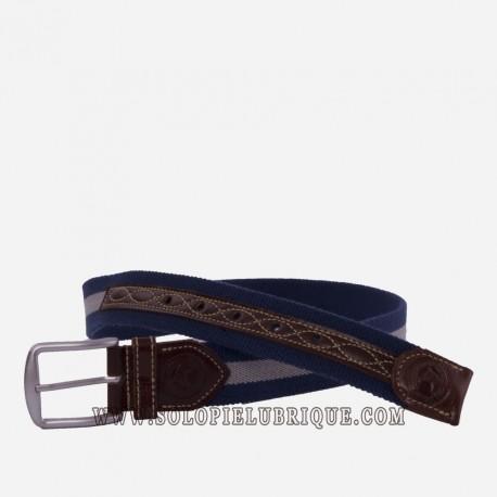 Cinturón elástico informal piel de Ubrique