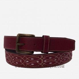 Cinturon rociero piel ancho barato